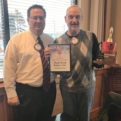 Mark and Jeff with 2017 Bell Ringer Award