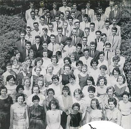 The Morrisville High School Class of 1958