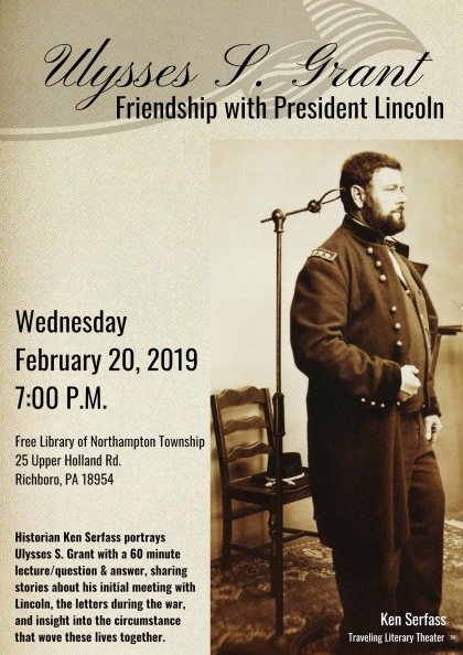 February 20 Friendship with President Lincoln Promo