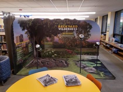 backyard wilderness exhibit