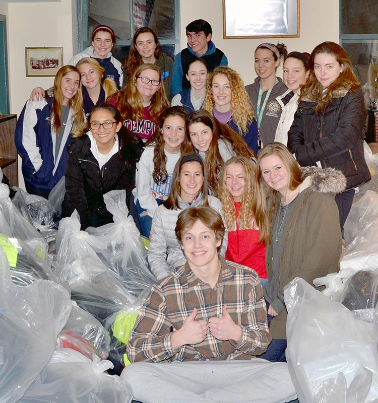 Nh s high school key club made holidays brighter times the new hope solebury high school key club recently helped the adopt a child for the holidays program in adopting 235 local children ccuart Choice Image