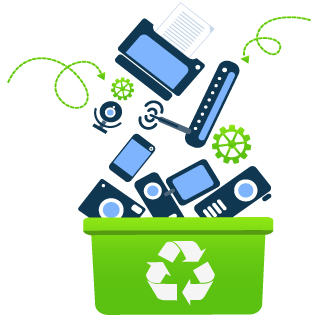 Northampton Township hosts 2018 E-Waste Recycling Event @ Council Rock High School North