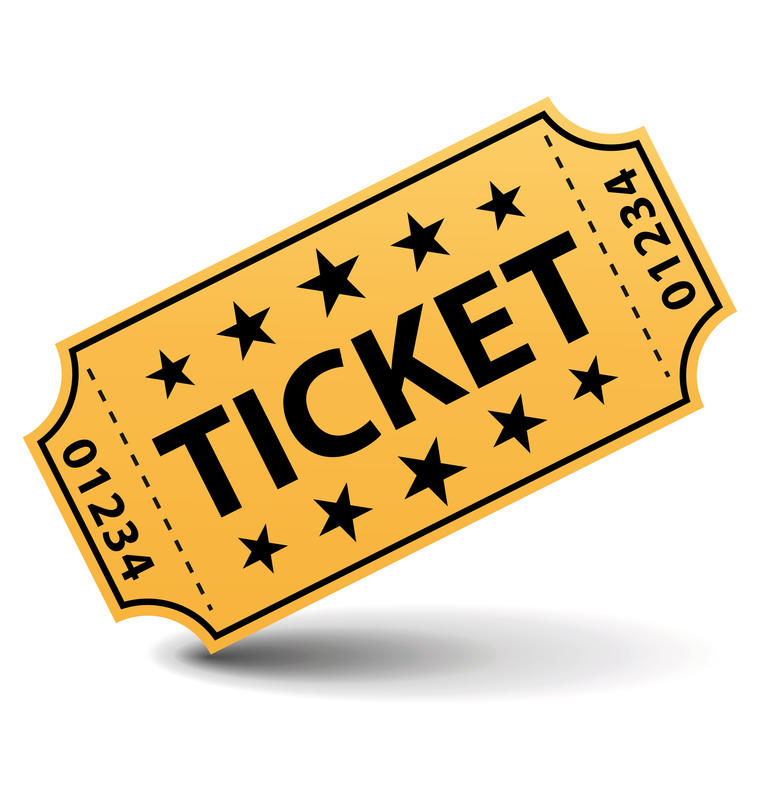 Movie ticket. Pictures clip art clipart