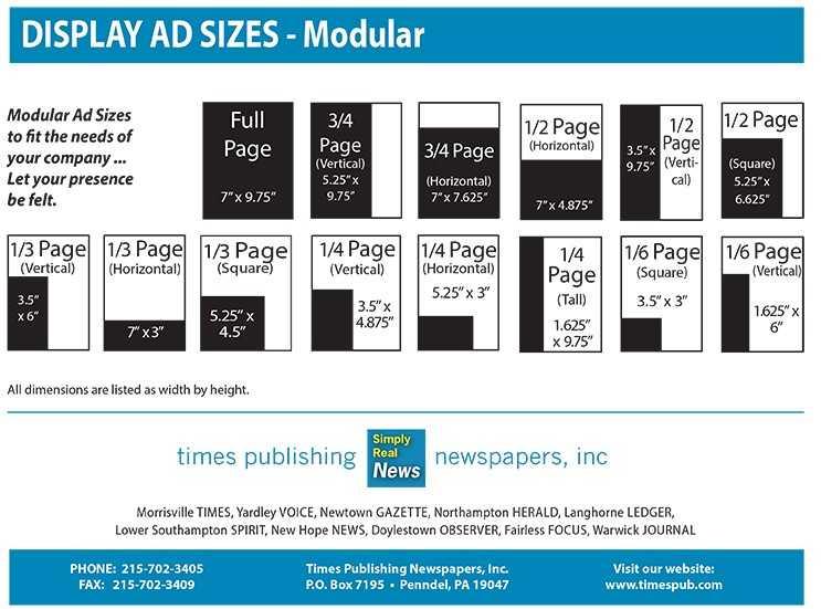 Display Ad Sizes