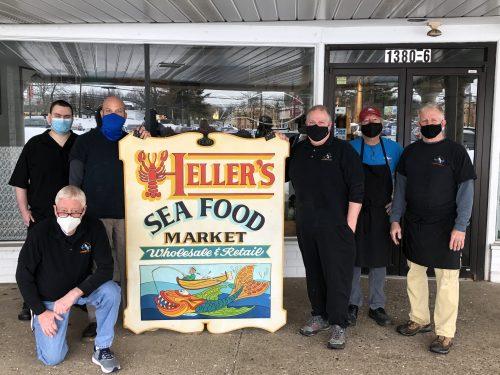 Spotlight: Heller's Seafood Market