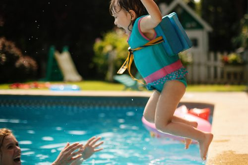 Safety tips for backyard pools